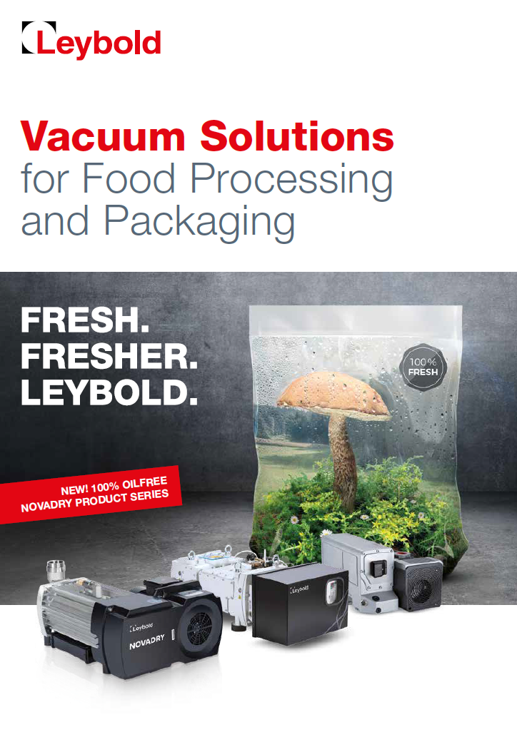 Food and Packaging - Leybold Landingpages